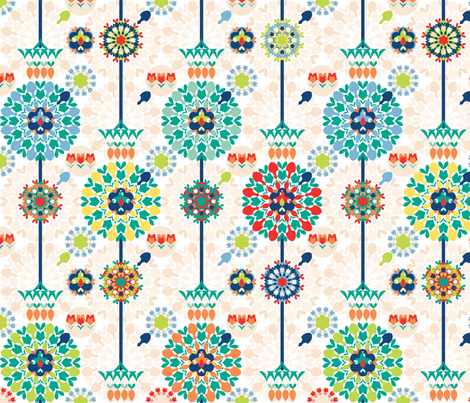 SpringRake fabric by paula's_designs on Spoonflower - custom fabric