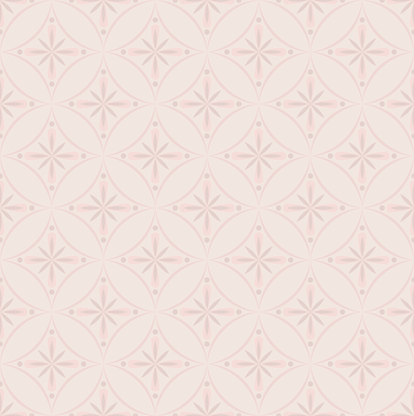 Moroccan Tiles 2 - Pale Pink fabric by shannonmac on Spoonflower - custom fabric