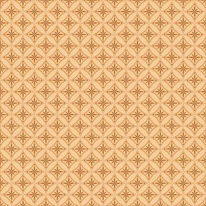 Moroccan Tiles 2 - Orange