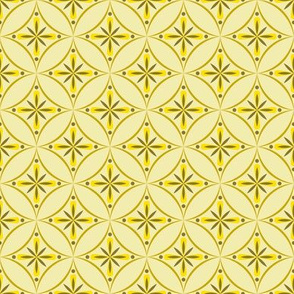 Moroccan Tiles 2 - Yellow
