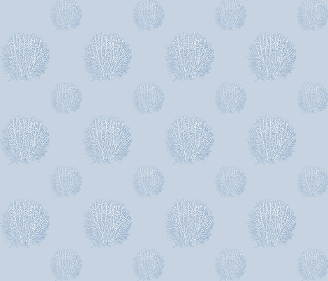 Sea Fan (Small) fabric by mandyd on Spoonflower - custom fabric