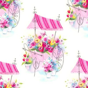 My FLower Cart by Paris Bebe