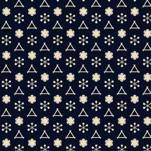 Snowflake Pattern 1863 No. II
