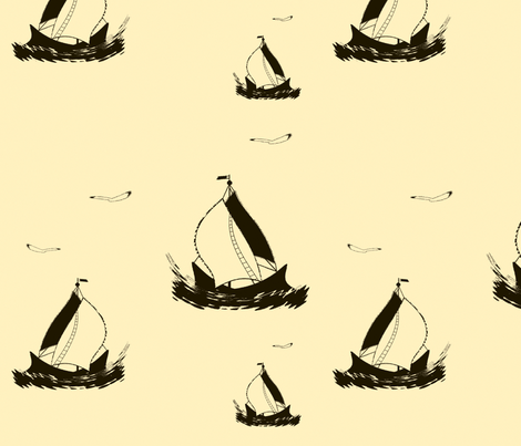 Sail fabric by retroretro on Spoonflower - custom fabric