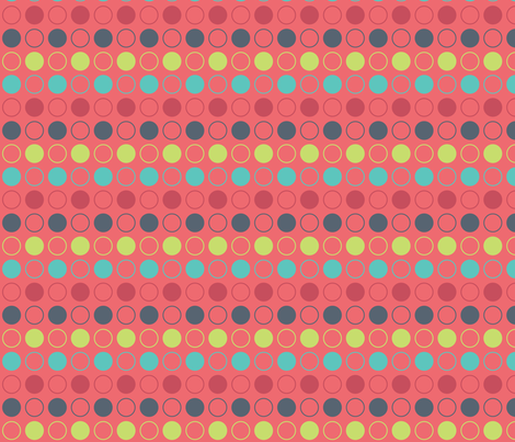 Joyful Circles fabric by emily_caraballo on Spoonflower - custom fabric