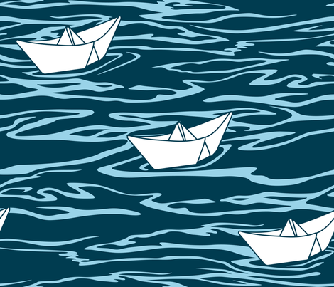 Sailing fabric by aalk on Spoonflower - custom fabric