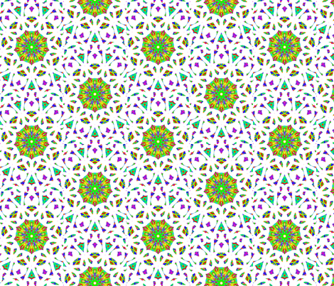 limenade fabric by jellybeanquilter on Spoonflower - custom fabric