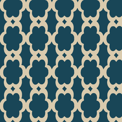daisy chain fabric by mezzime on Spoonflower - custom fabric