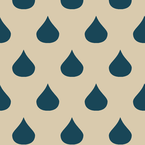 The forecast is calling for rainstorms fabric by mezzime on Spoonflower - custom fabric