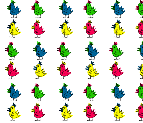 Chicken Pop! fabric by maggiemonroy on Spoonflower - custom fabric