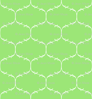 Green Leaf Trellis