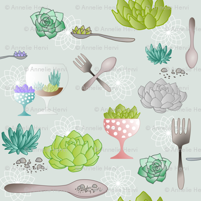 Spoons_And_Forks_For_My_Succulent_Garden
