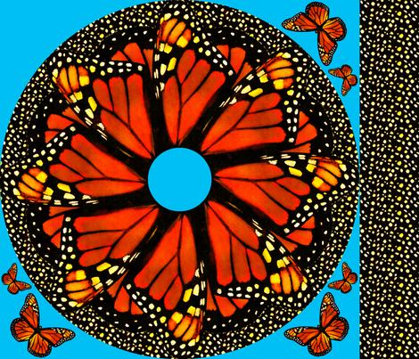 Monarch Twirl Skirt -child size