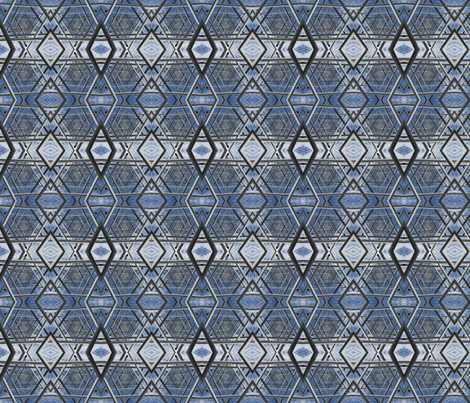 Star Of David Small fabric by mikep on Spoonflower - custom fabric