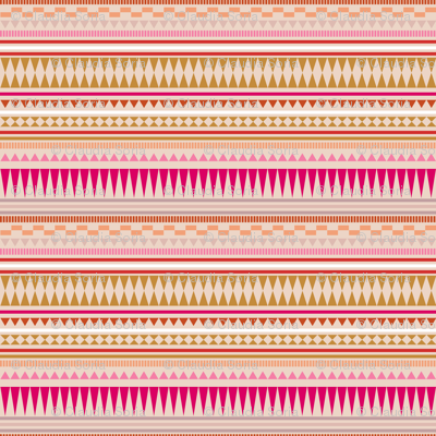 Aztec Stripe Peach