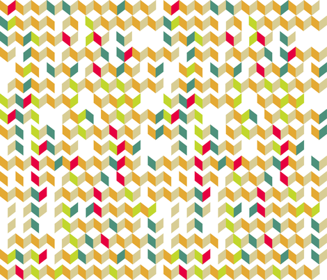 Broken Skinny Chevron fabric by kfay on Spoonflower - custom fabric