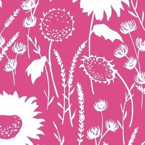 wildflowers - pink