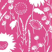 wildfowers PINK
