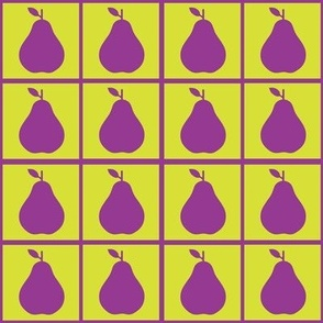 Magenta pear