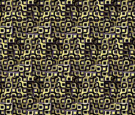 Circle Cubes 2 fabric by animotaxis on Spoonflower - custom fabric