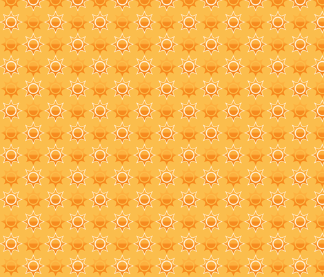 Summer Sun fabric by emily_caraballo on Spoonflower - custom fabric