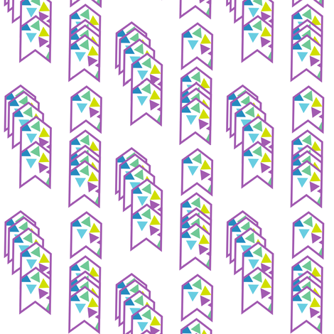 Arrows Striped - Triangled Bliss - Exceptional Skyline - © PinkSodaPop 4ComputerHeaven.com fabric by pinksodapop on Spoonflower - custom fabric