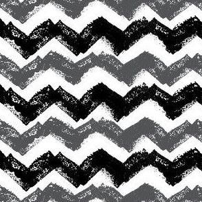Black and White Chevron stamp Pattern