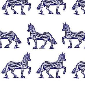 Navy Zebras