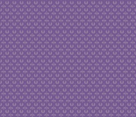 Naboo Jedi fabric by nerdbaitplus3 on Spoonflower - custom fabric