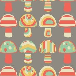 Muted mushroom