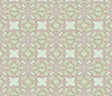 Cane kaleidoscope-1_ fabric by koalalady on Spoonflower - custom fabric