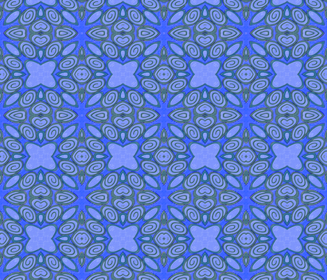 Cane kaleidoscope-2_ fabric by koalalady on Spoonflower - custom fabric