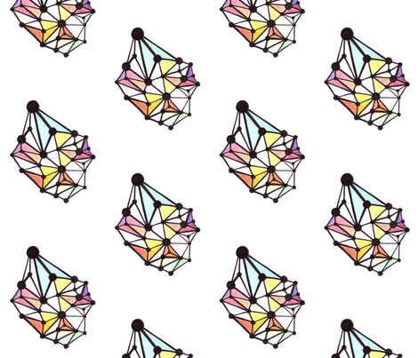 network_color fabric by kcs on Spoonflower - custom fabric