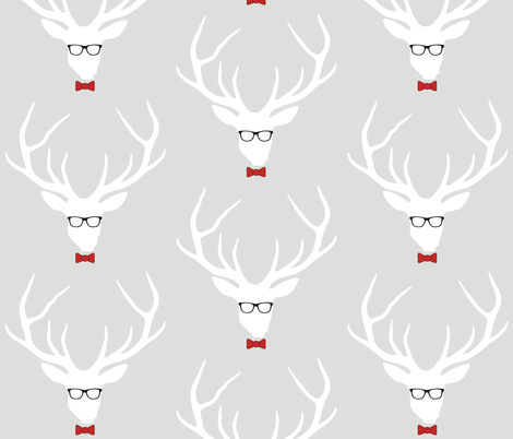 Geekhead fabric by smuk on Spoonflower - custom fabric