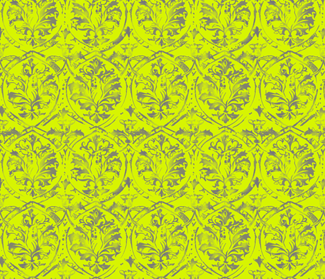 deer damask pop fabric by pattern_state on Spoonflower - custom fabric