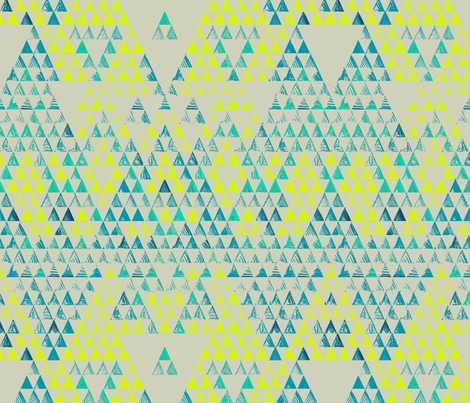 triangle marine fabric by pattern_state on Spoonflower - custom fabric