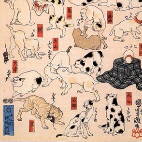 Kuniyoshi's Cats