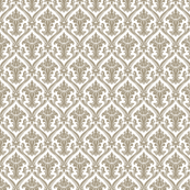 Cream Damask