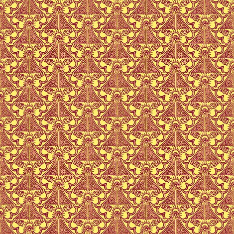 Angel Bells fabric by amyvail on Spoonflower - custom fabric