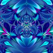 Fractal: Blue Elegance