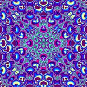 Fractal: Blue Squared