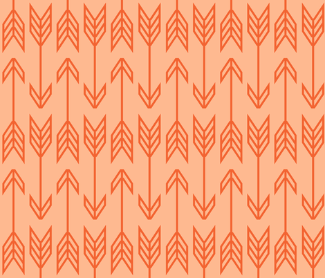 slings and arrows fabric by therealamyb on Spoonflower - custom fabric