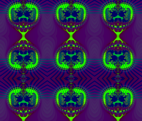 Fractal: Emerald Crown Jewels fabric by artist4god on Spoonflower - custom fabric