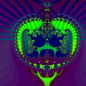 Fractal: Emerald Crown Jewels