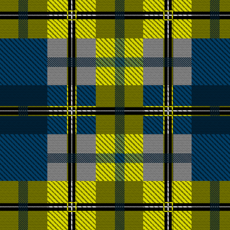 firefly plaid fabric by glimmericks on Spoonflower - custom fabric