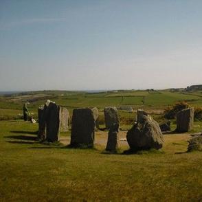 Drombeg Stone Circle, County Cork, Ireland