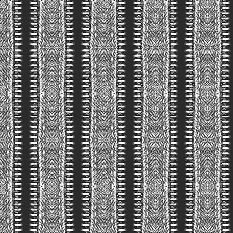 black_zipper fabric by susiprint on Spoonflower - custom fabric