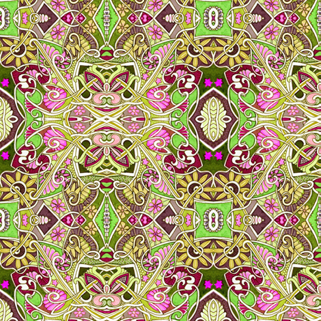 Secret Inner Life of Argyle fabric by edsel2084 on Spoonflower - custom fabric