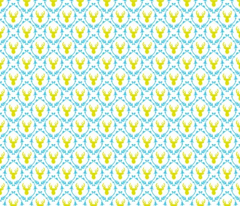 Rrroh_deer_pattern_-_mustard_blue_shop_preview