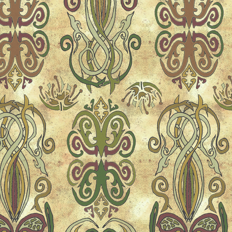 Gypsy Motifs fabric by joojoostrees on Spoonflower - custom fabric